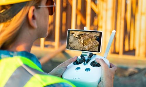 video con droni, immobiliare, proptech company